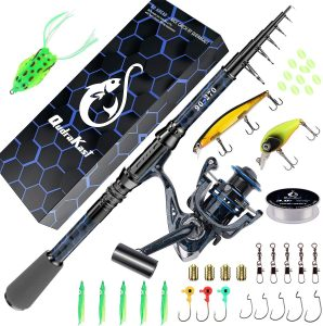 QudraKast Fishing Rod and Reel Combos