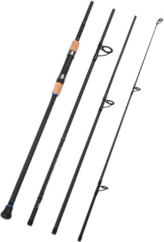 Fiblink Sapphire S1204 4-Piece Surf Spinning & Casting Fishing Rod
