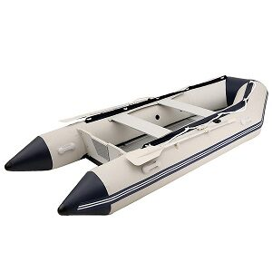 Cosway 10.8ft Inflatable Boat V-Keel Bottom Inflatable Raft