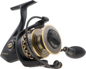 PENN 1338219 Battle II 4000 Spinning Fishing Reel